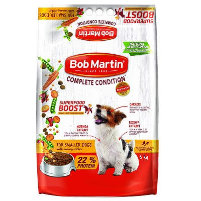 BobMartinAdultDryFoodforSmallerDogswithSavouryChicken6kg