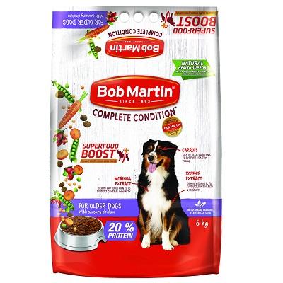 BobMartinDryFoodforOlderDogswithSavouryChicken6kg