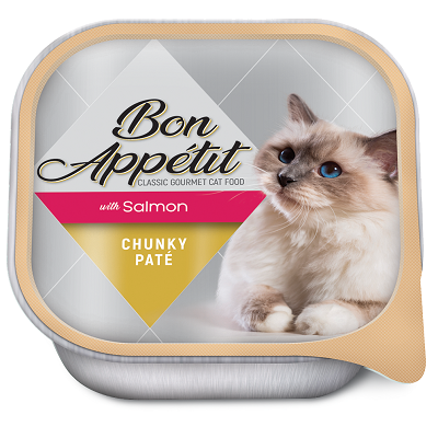 BON APPETIT CHUNKY PATE WITH SALMON 16 X 100G