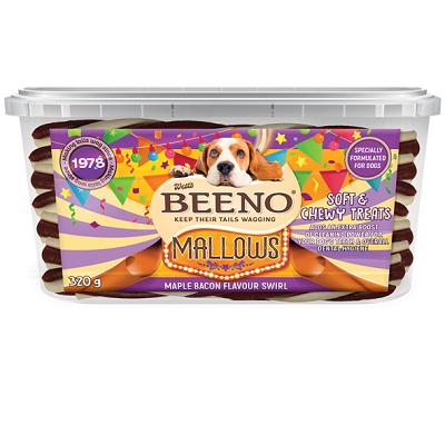 BEENO Mallows Tub Maple Bacon Flavour Swirl